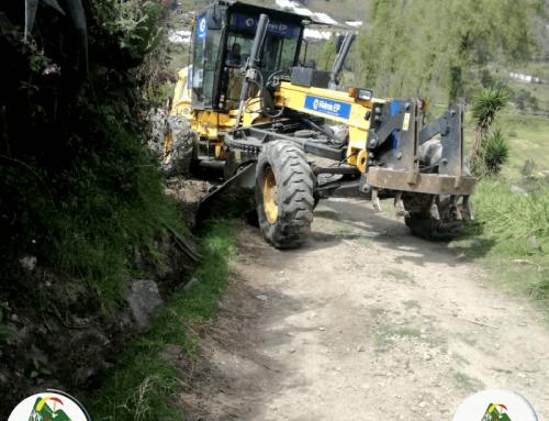 Mantenimiento en la vialidad rural