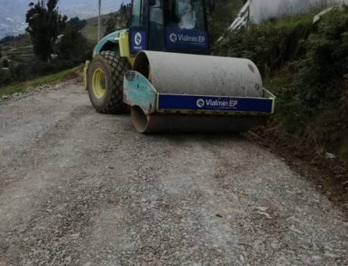 Mantenimiento Vial Rural en la Parroquia Chican